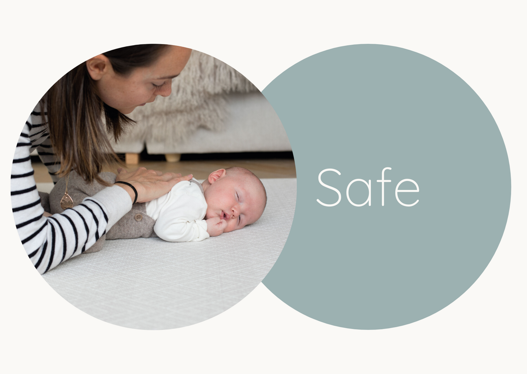 Safe non-toxic playmats from newborn