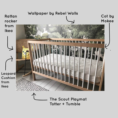 Scout Playmat Nursery Vicky Gooden