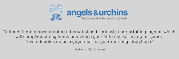 Angels and Urchins Totter + Tumble playmats