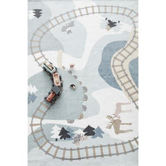 Kids Concept Train Rug