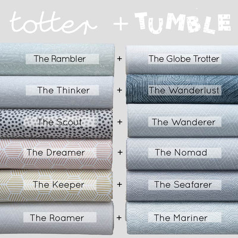 Stylish reversible playmats from Totter and Tumble