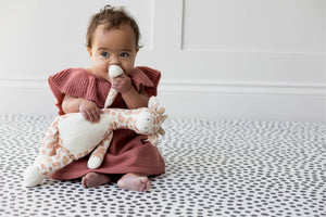 Stylish luxury monochrome one-piece Totter and Tumble playmat