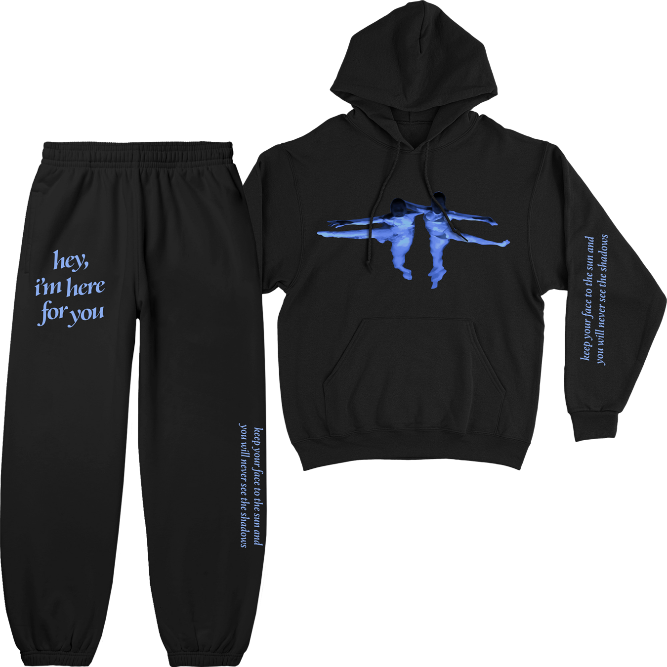 HIHFY BLACK SWEATSUIT + DIGITAL ALBUM
