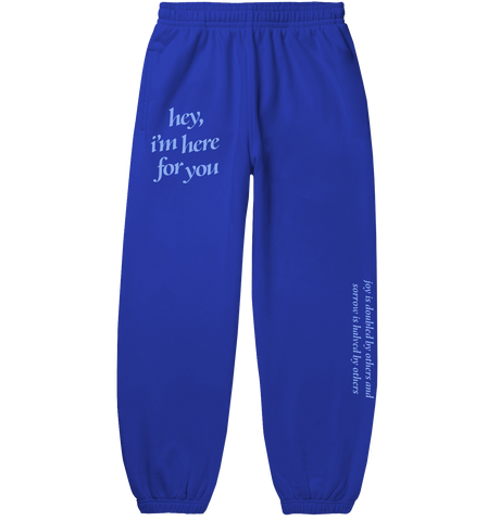 HIHFY BLUE SWEATS