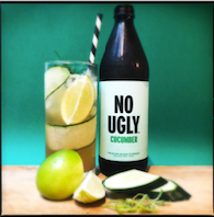 No Ugly Cucumber Fresca