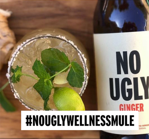 No Ugly Wellness Mule