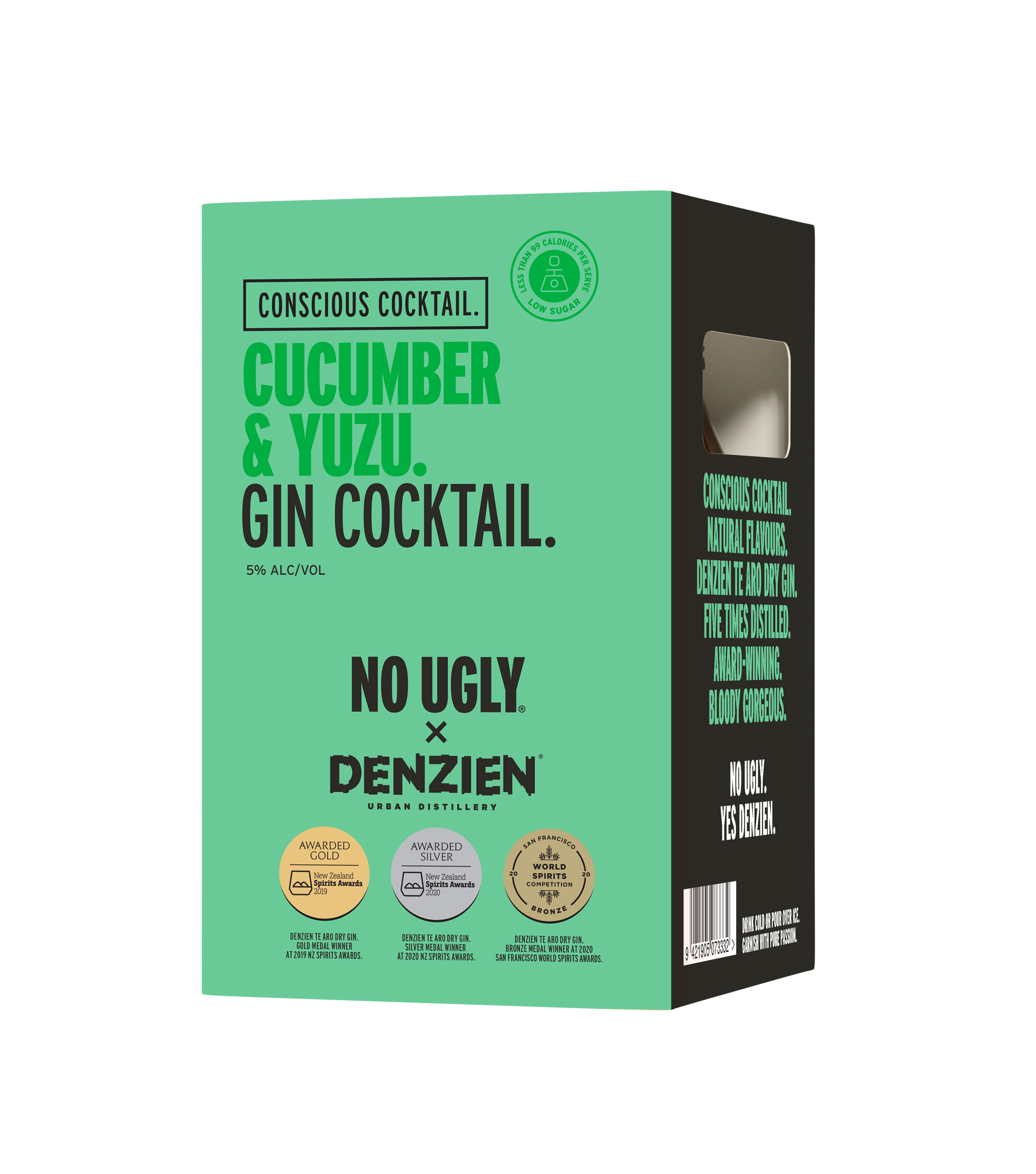 Cucumber Conscious Gin Cocktail