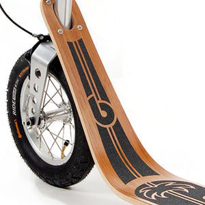 Boardy Bamboo wooden kick scooter