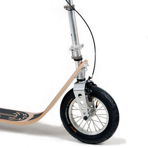 Boardy Kick Scooter Bamboo - now with free mudguard