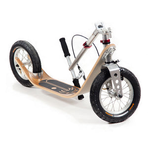 Boardy folding push scooter