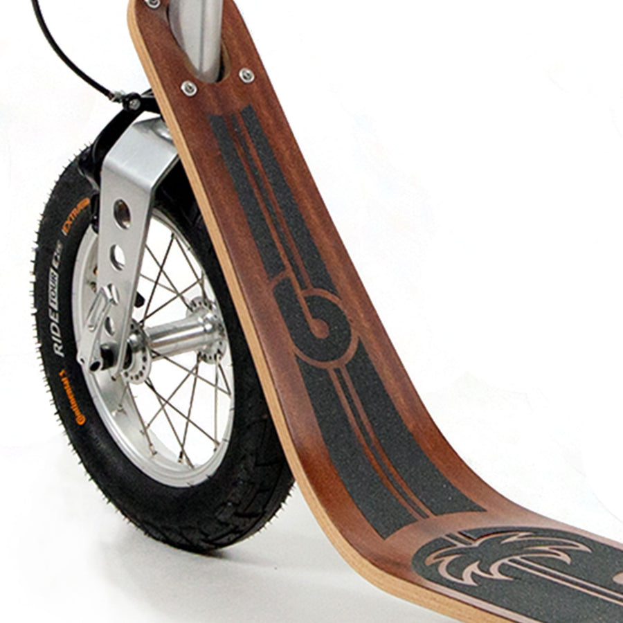 Boardy Mahogany wooden kick scooter
