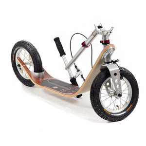 Boardy Mahogany wood kick scooter for great ride comfort