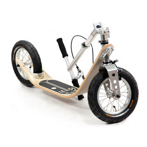 Folding maple board kick scooter for adults by Boardy