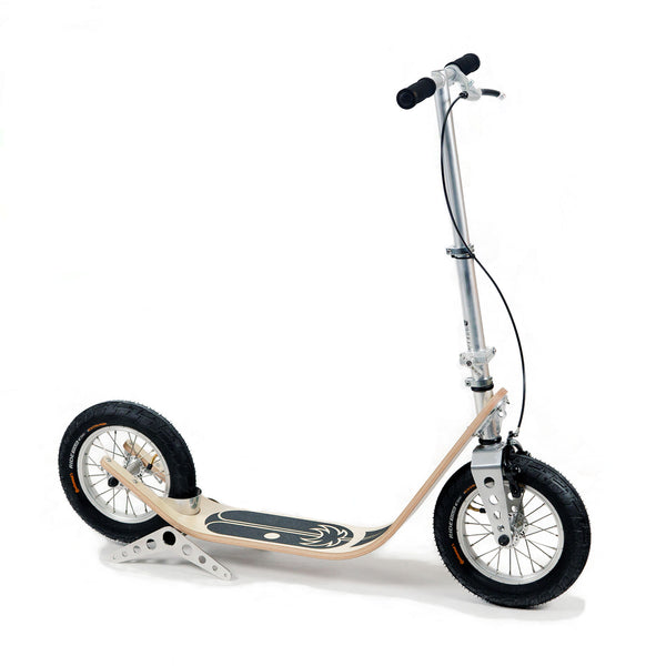Boardy Maple wood kick scooter for great ride comfort