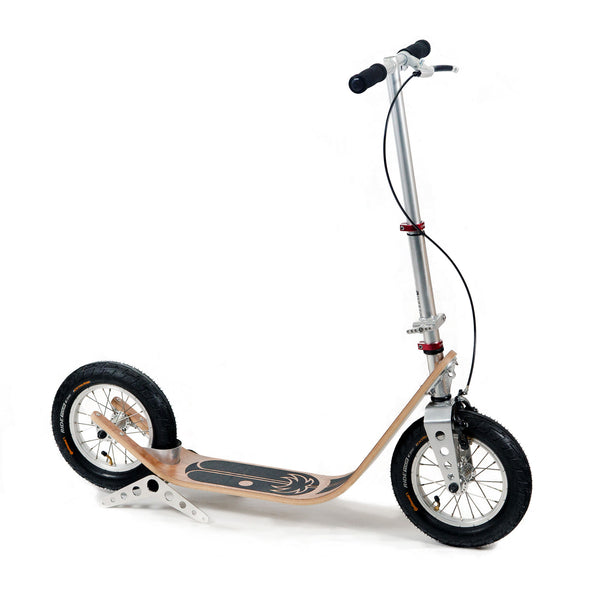 Boardy Kick Scooter Walnut