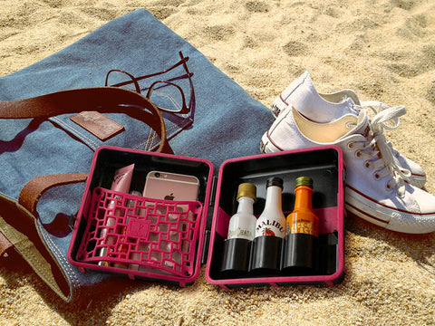 LuxeTravelPak ideal container for beach and scuba items.