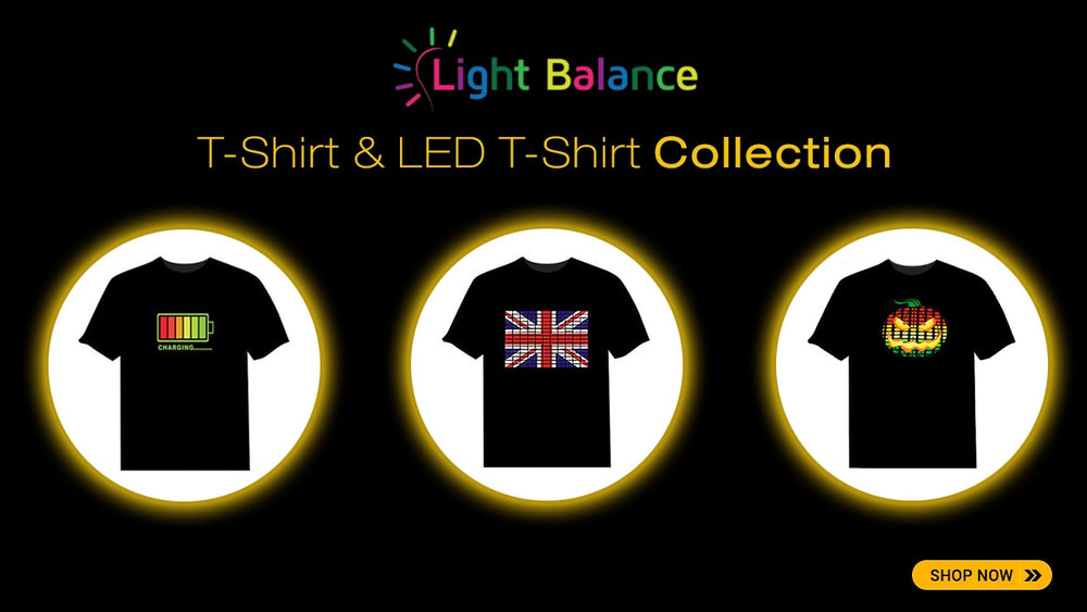 lightbalance - LED T-Shirt