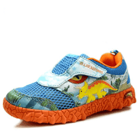 3D Triceratops Dinosaur LED Casual Shoes