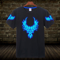 Novelty Dragon & Skull Glow in The Dark T-Shirts