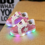 STAR Logo - Casual LED Sneaker For Baby and Toddlers - LightBalance.co