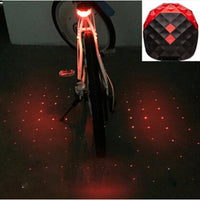 5 LED Mountain Bike Tail Light Taillight MTB Safety Warning Bicycle Rear Light Bicycle Lamp #EW - LightBalance.co
