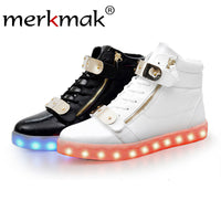 Merkmak Sequined Ankle Boots for Luminous Lover - LightBalance.co