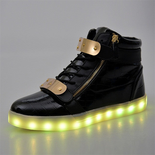 Merkmak Luminous Lover Flash Ankle Boots - LightBalance.co