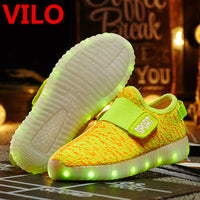 Vilo Abstract Line LED Flashing Sneakers