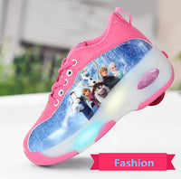 'FROZEN' Sports Casual Wheelie Sneaker for Girl
