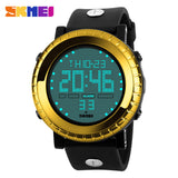 Men Fashion Military Stainless Steel Digital LED Date Sport Quartz Wrist Watch - LightBalance.co