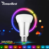 10W E27 RGB LED Bulb Stage Lamp 12 Colors with Remote Control LED Light Timing Function - LightBalance.co