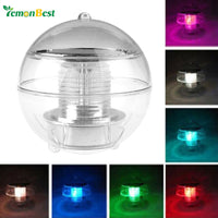 Solar Power LED Floating Night Light Ball Rechargeable Bulb Lamp - LightBalance.co