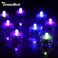 12 Pcs Super Bright Lamp LED Floral Shape Candle Lights - LightBalance.co