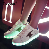 7ipupas Unisex Star Dancing Glowing Sneakers - LightBalance.co