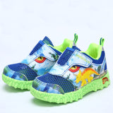 Dinoskulls 3D Triceratops Dinosaur LED Casual Shoes - LightBalance.co