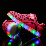 7ipupas Fly Shine Colorful Luminous Sneakers for Kids