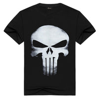 The Punisher Casual Black T-shirt