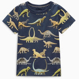 Dinosaur Park - Short Sleeve T-Shirt for Boys