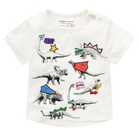 Dinosaur Superhero T-shirt for Kids