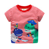 Pirate Dinosaur Tee for Kids