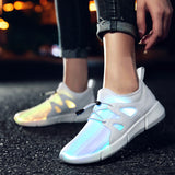 Tide Wave LED Light Up Sneakers