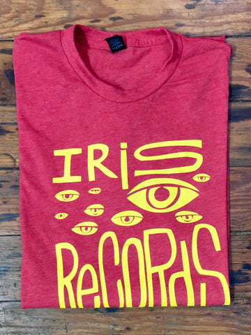 Mens Red w. Yellow Print
