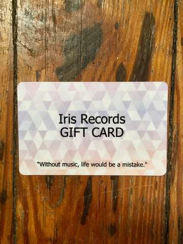 Iris Records Gift Card