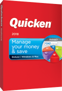 Quicken Deluxe 2018 (2-Year Subscription) - Mac|Windows