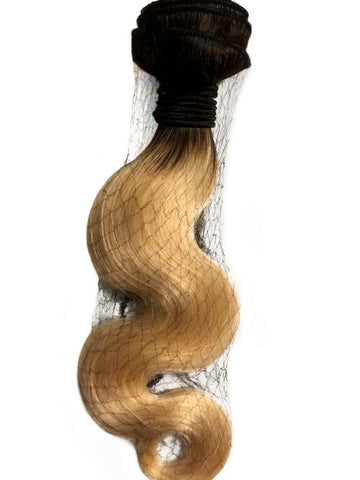 Brazilian Body Wave Bundle Deal 1B 613 (3/4 Bundles)