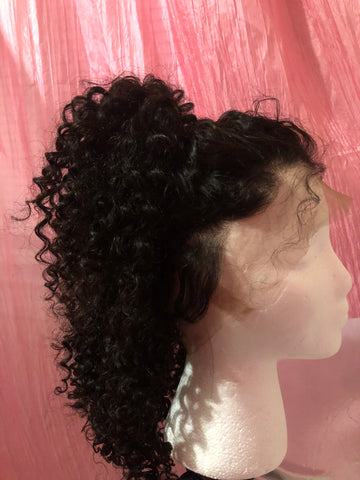 360 Lace Frontal Wig - Mongolian Deep Wave