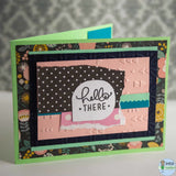 Cards for General use - Hello there Pink / Horizontal -