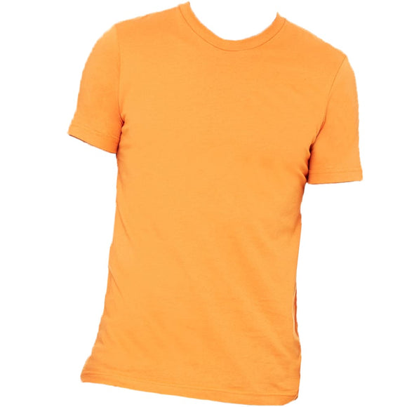 Custom Tee Blanks: Adult Tees & Tanks - Adult S / Orange /