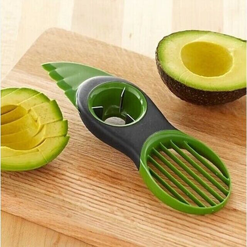 3-in-1  Multi-functional Avocado Fruit Cutter Knife