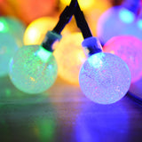 Christmas Globe Solar Lights